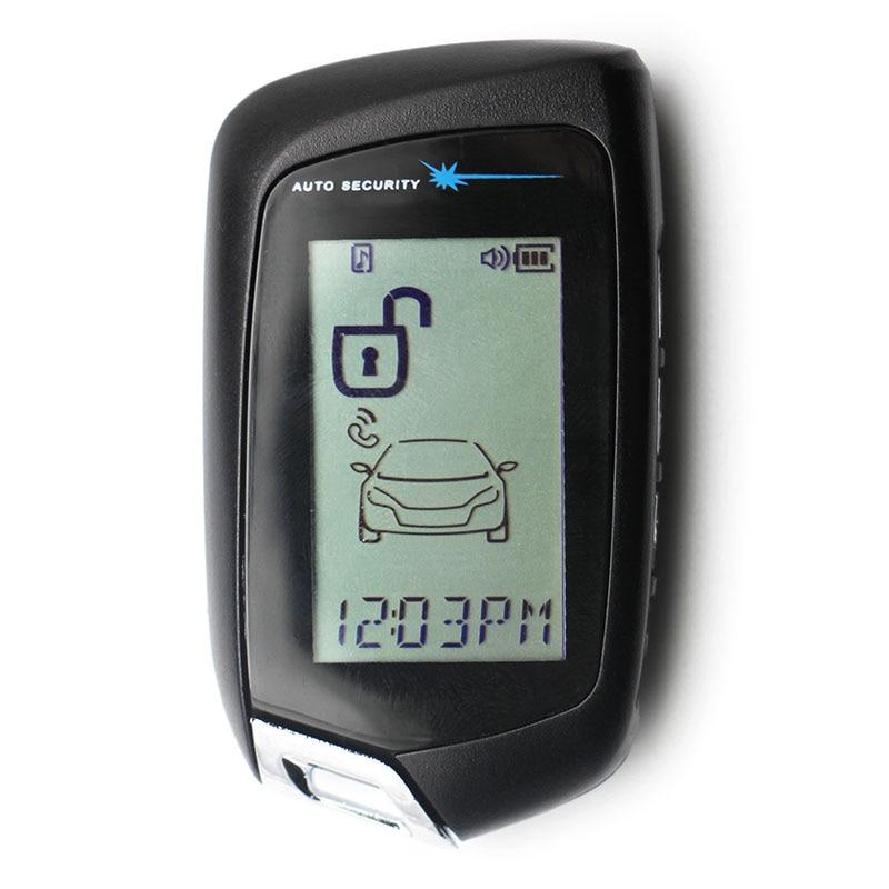Magicar 905 LCD Remote Control Key Fob For Russian Vehicle Security 2 Way Car Alarm System Scher Khan M5 Scher khan Magicar 905