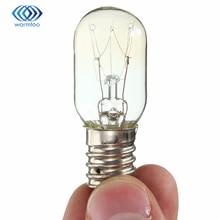 15 Вт/25 Вт Медь никелированная стекла холодильник лампа E14 220-230 В теплый желтый свет печь lampoptional