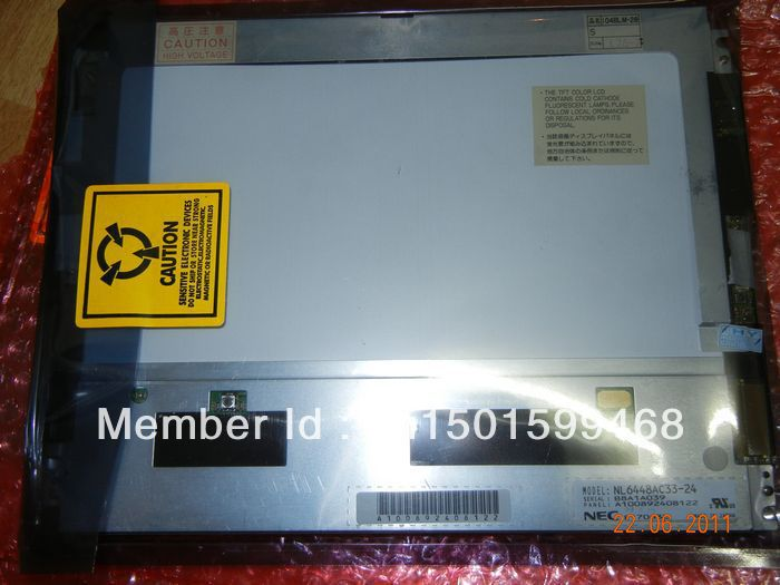 NL6448BC33-24 10.4 INCH Industrial LCD,new&A+ in stock, free shipment кабель jack 3 5 mm вилка jack 3 5 mm розетка аудио 3 м sparks sp3033