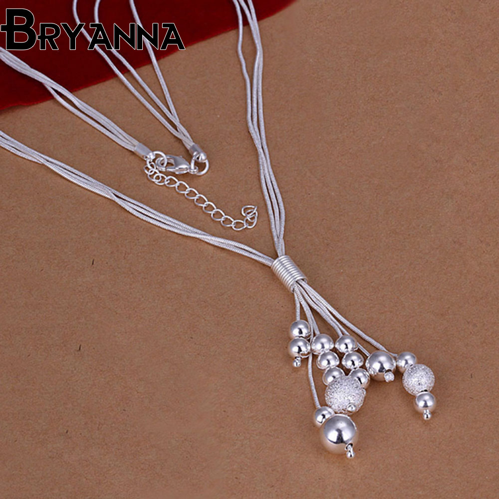 H008 Fashion Metal Necklace Baby Teetining Necklace