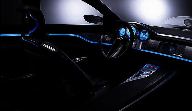 automotive trim. LED light bar. accessories. for lexus IS200 IS250 RX300 RX330 GX470 GS300 CT ES IS GS LS LX TX GX NX sticker