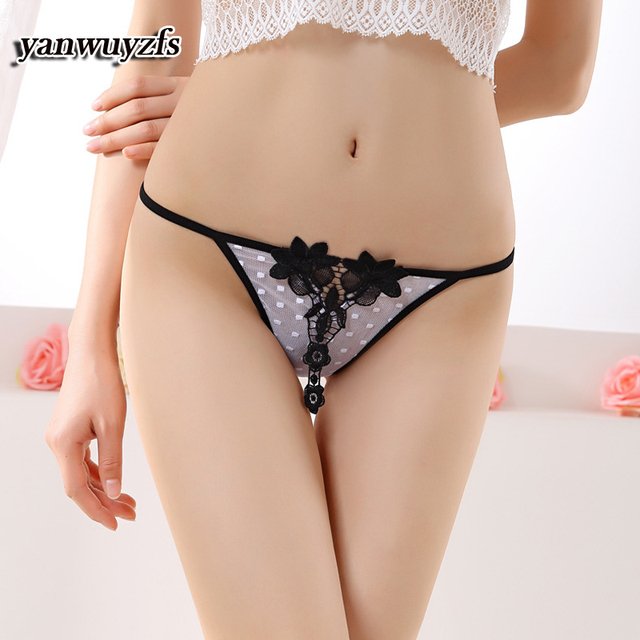 100pcs 2017 Hot sale l women's sexy lace panties lady breathable panty Hollow lady briefs Plus Size girl underwea Flower Panties