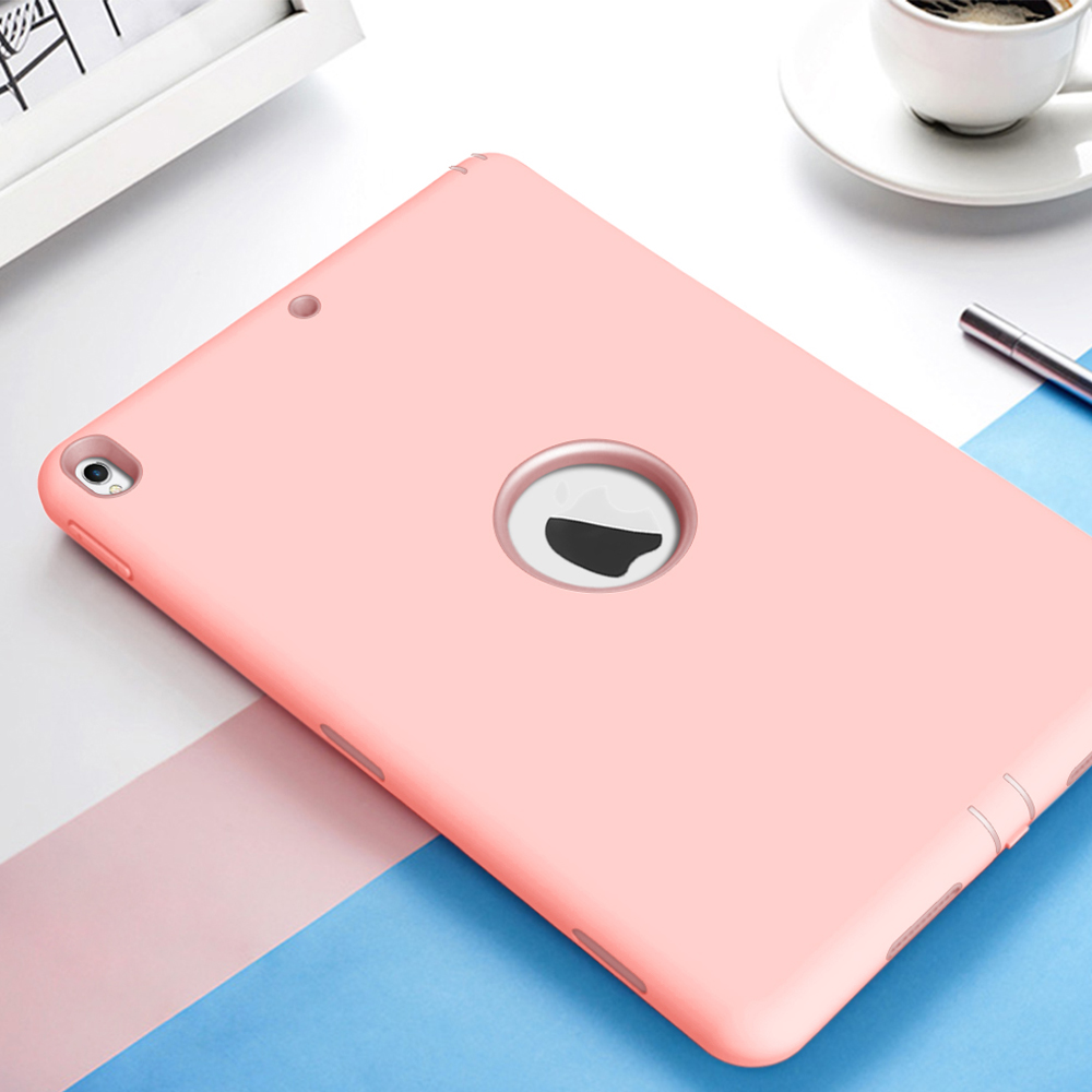 Silicone Case For Ipad Pro 10.5 A1701/A1709 High Impact Shock Absorption Hard PC Bumper Protective Cover