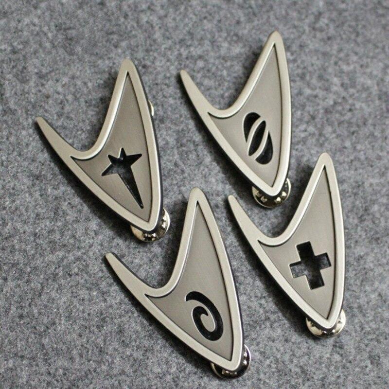 מסע בין כוכבים תג קוספליי צי הכוכבים פיקוד חטיבה בעבודת יד תג סיכת פין