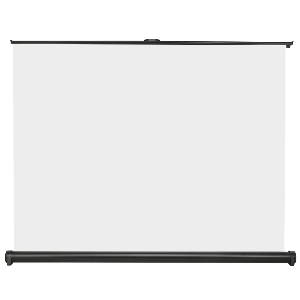 Premium Fiberglass HY Movie Screen 30inch 16:9 Universal Home Cinema Projector Pull-Down Office Business Outdoor Travel Protable