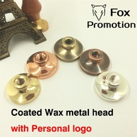 Customize Wax Stamp Head Coated DIY Ancient Seal Retro Stamp Personalized Stamp Wax Seal Custom Design