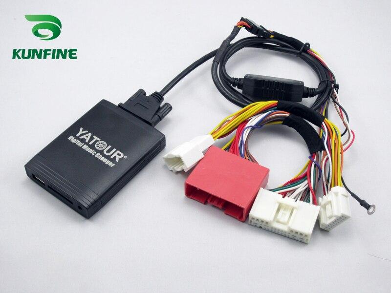 Автомобильный цифровой музыкальный адаптер USB SD Aux MP3 интерфейс автомобильный стерео для нового Mazda Bluetooth телефон плесень и контроллер опцио...