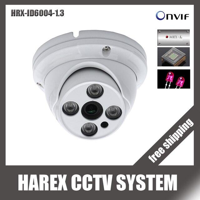 960 P матрица светодиодов ONVIF Крытый ИК-Ночное видение poe/аудио из металла vandalproof ip купольная Камера, бесплатная доставка