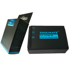 SOULMATE FNP85 lithium batteries CB-170 Digital Camera Battery NP170 For ORDRO HDV-D325 D370 For SPEED HD230Z For fujifilm SL305