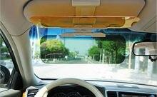 Новый Бесплатная Доставка Блок Солнца Свет Авто День и Ночь Блики Зеркало Солнцезащитные Очки Поляризатор Очки Ночного Видения