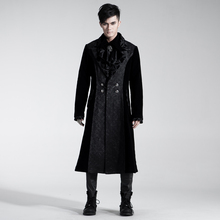 Punk Rave Mens Jackets and Coats Gothic Black Steampunk Cosplay Stage Performance Personality Windbreaker
