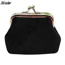 Винтажный женский кошелек для монет, вельветовый маленький кошелек, держатель для ключей, кошелек, клатч, сумочка, Карманный мешочек, мини сумка для денег