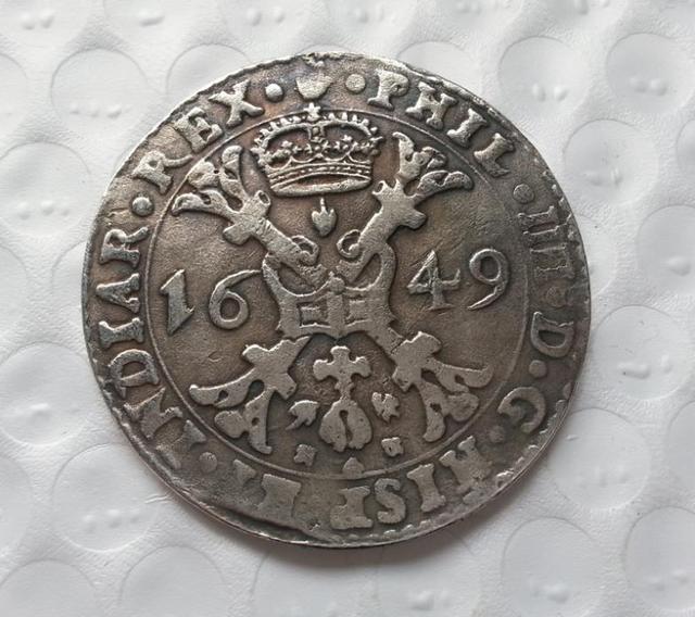 Holy Roman Empire 1649 Đồng Xu Huy Chương Thaler Sao Chép Coin-bản sao coins medal sưu tầm tiền xu