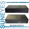 SunEyes SP-NVR-F09/F16 Professional Project Quality 1.5U NVR ONVIF with 2 SATA HDD Port (1920*1080)/(2048*1536)/(2592*1944)