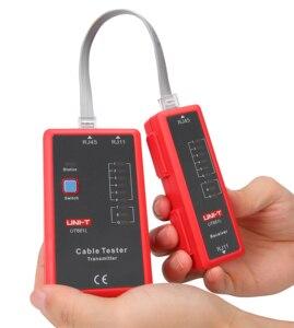 Image 5 - Probador de Cable UNI T UT681L HDMI, rastreador LAN, red automática, probador LED, Ethernet, teléfono, BNC, HDMI, herramienta de reparación