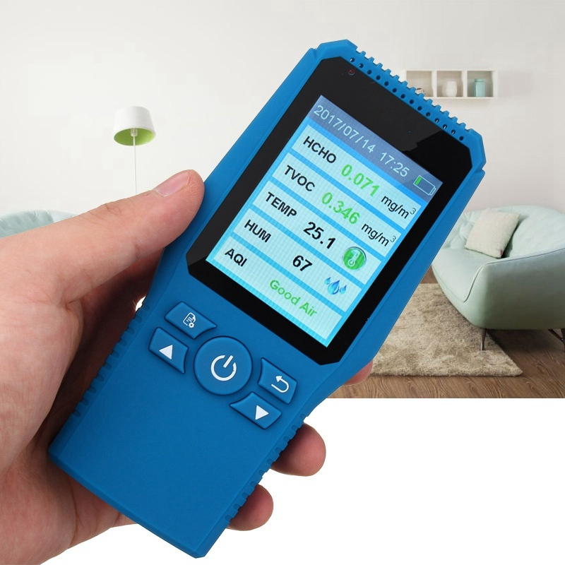 New Arrival Digital Formaldehyde Detector Meter Formaldehyde Tester Sensor HCHO TVOC Meter Air Analyzers Unit Air Quality Tester free shipping jsm131s indoor air quality monitor handheld ch2o hcho tester