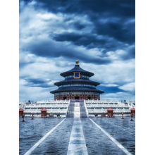 Diamond painting landscape square drill full of Embroidery Needlework rhinestone pictures Forbidden City