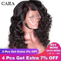 Glueless предварительно сорвал Full Lace натуральные волосы парики бразильского натуральные волосы парик с ребенком волосы свободная волна 180% Remy п