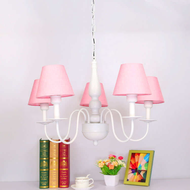 Modern  Chandelier with 5 Lights  Children Bedroom Lustres hanging