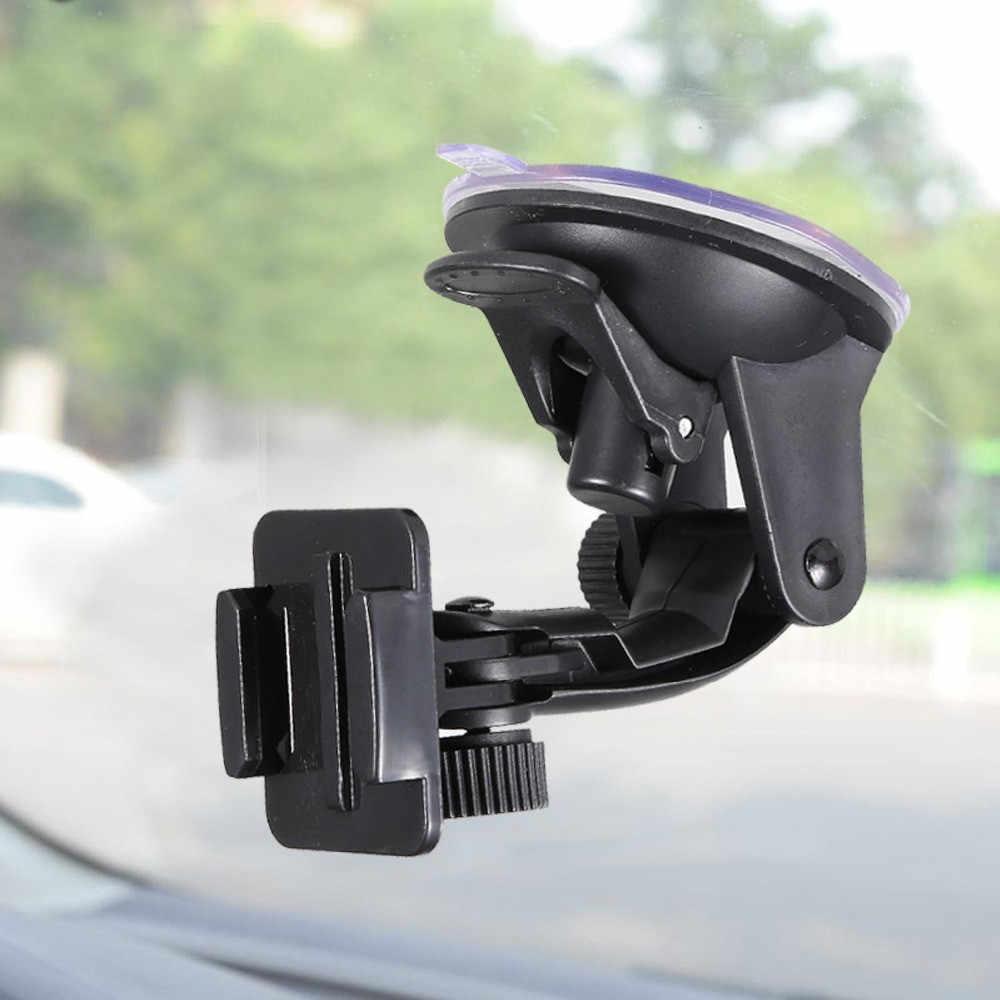 Для спортивной экшн-камеры Go Pro аксессуары автомобильный держатель, устанавливается при помощи присоски на лобовое стекло для экшн-камеры Gopro Hero 7 6 5 4 3 SJCAM sj4000 спортивной экшн-камеры Xiaomi Yi 4 K Экшн-камера Eken H9 экшн Камера