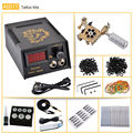 CHUSE Beauty Complete Equipment Tattoo Machine Gun Permanent Makeup Machine Inks Power Supply Cord Kit  Microblades   PMU