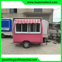 Mobile Food Trailer Catering Burger Van