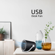 ANIMORE Second Gear Mini Quiet USB Desk Fan Touch Switch.