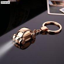 Автомобильный брелок для ключей мужчин и женщин двойная подвеска