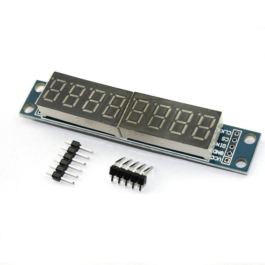 Smart Electronics MAX7219 CWG 8-Digit Digital Tube Display Control Module Red Three IO For arduino DIY Starter Kit