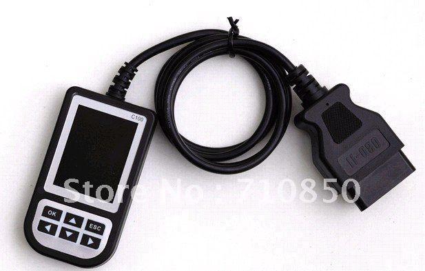 Fast shipping super C110 Auto Scan OBDII/EOBD Code Reader OBD2 code scanner C110 for bmw code reader