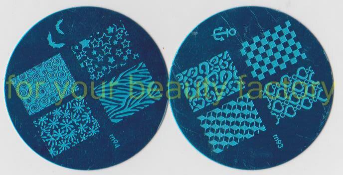 PROMOTION! 20 PCS/LOT rond m taille 5.6 diamètre Nail Art Image plaque 104 différents modèles pour vous choisir livraison gratuite! # X105
