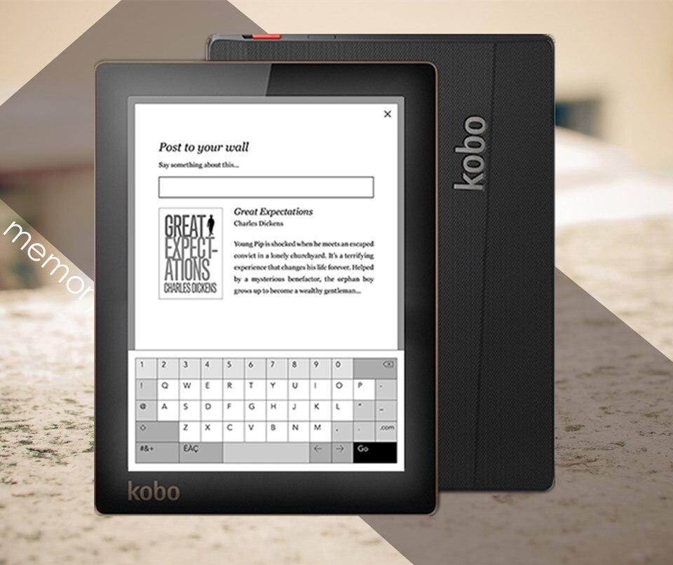 Nice book Kobo Aura ebook e ink 6 inch 1024x768 built in back light 4GB libros