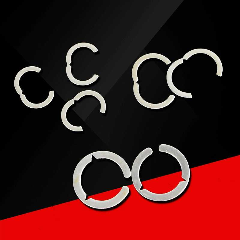 4 点 6 点 1 インチステンレス鋼は、クランプ春リングベローズカードホルダー波高 162025
