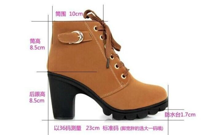 женщины туфли на высоком парня, Европа кожа сапоги леди высокая пятки для motocycle, женщины в обувь