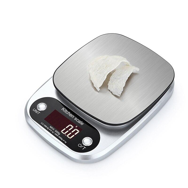 10 кг/1 г 5 кг светодио дный электронные весы еда диета кухня.