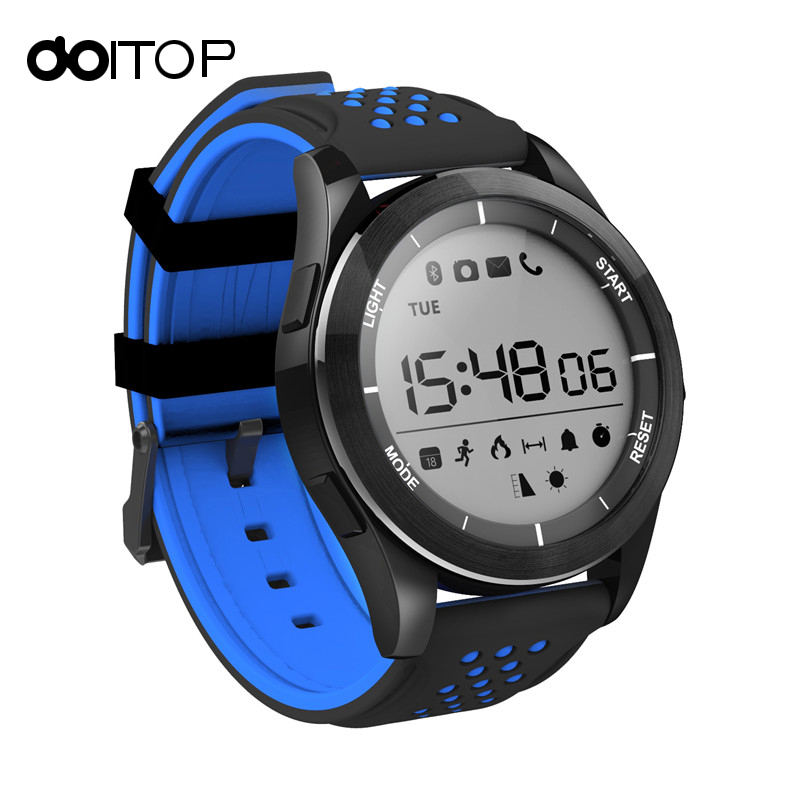 DOITOP NO.1 F3 Smart Watch Bracelet IP68 Waterproof Hiking Sports Smartwatch Fitness Tracker Wearable Devices For Android iOS