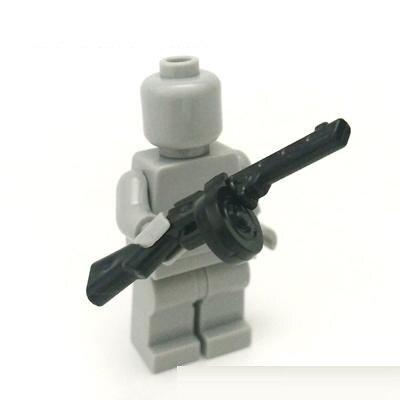 10pcs PPSh Submachine Gun Original Blocks Educational Toys Swat Police Military Weapons Gun Model City Accessories Mini Figures