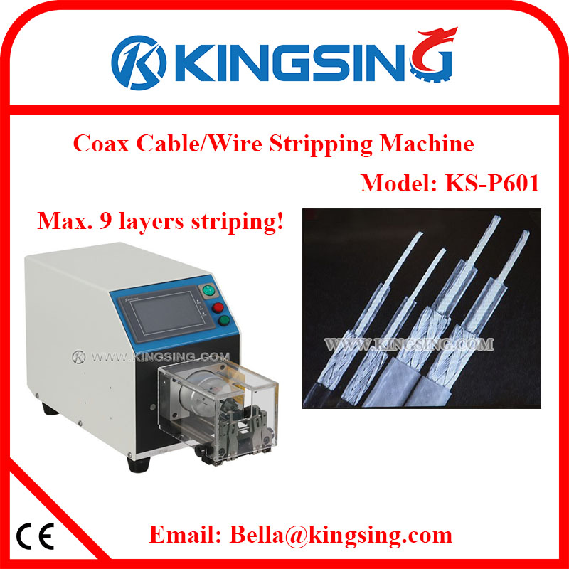 Brand New Kingsing Coaxial Cable Wire Stripping Machine/Coax Wire ...