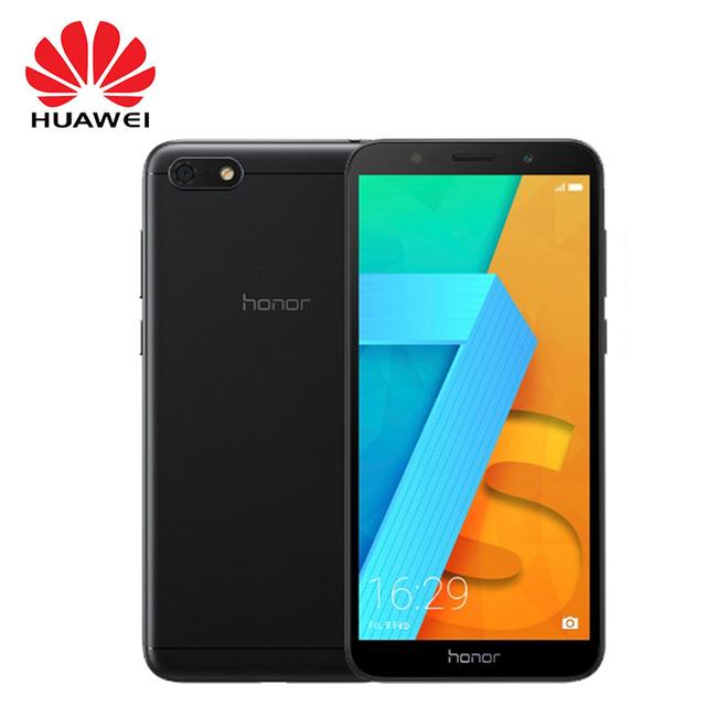 "Global Version HUAWEI HONOR 7S DUA-L22 5.45"" Quad Core Android 8.1 Smartphone 13MP 5MP Dual Camera 3020mAh Mobile phone"
