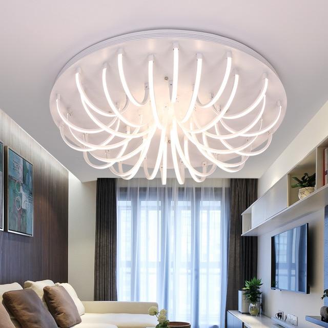 US $200.0 |Neue günstigen Led Deckenleuchten plafondlamp Schlafzimmer  moderne Wohnzimmer Lampe Foyer leuchten Indoor hause leuchten in Neue ...