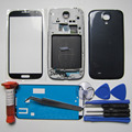 Full Housing Cover for Samsung Galaxy S4 IV i9500 Front LCD Bezel & Middle Frame & Rear Case & Screen Glass & tools & UV glue