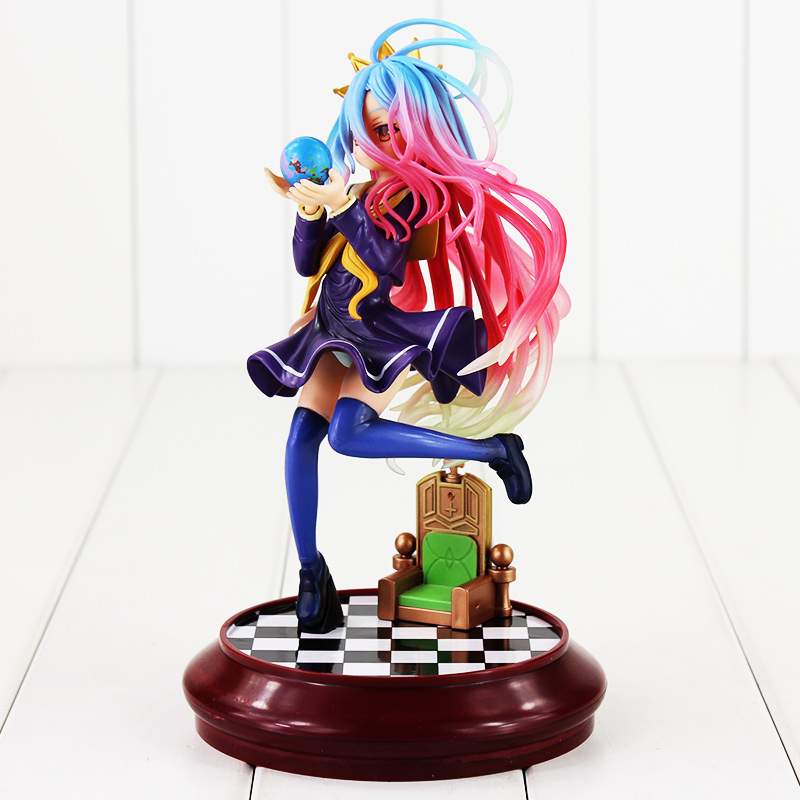 Anime Kotobukiya Game of Life PVC Action Figure No Game No Life Collectible Hand Model Doll Figure Toy anime one piece dracula mihawk model garage kit pvc action figure classic collection toy doll
