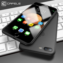 CAFELE Luxury Silicone TPU Phone Cases for iphone 8 8 Plus Transparent Ultra Thin Case for iphone 8 8 Plus Light Weighted Cover