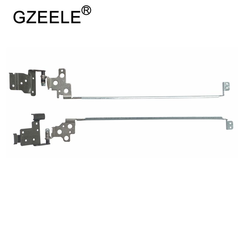 GZEELE New Laptop LCD Hinges For Dell Inspiron 15 3542 3541 15CR-3543 1528 3000 3546 3543 1518 NEW Left&Right For No Touch
