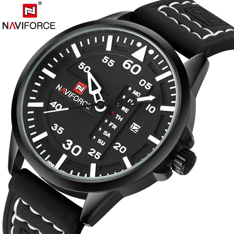 Brand NAVIFORCE Designer Watches Men Quartz Hour Date Clock Male Fashion Sports Watch Military Wrist Relogio Masculino