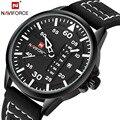 Relógios de grife homens quartzo Hour data relógio marca NAVIFORCE esportes de moda masculina assistir relógio de pulso militar Relogio Masculino
