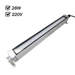 Factory Outlet 28W 220VAC wodoodporne oświetlenie panelowe led obrabiarki CNC oświetlenie wszystkie powłoka aluminiowa anty olej przeciwwybuchowy IP67 w Oświetlenie przemysłowe od Lampy i oświetlenie na