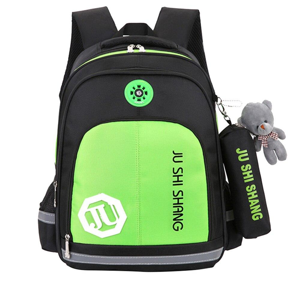 Hot sale Children School Bags For Girls Boys Kids Satchel Waterproof Orthopedic Backpack SchoolBag book bag Mochila Escolar стоимость