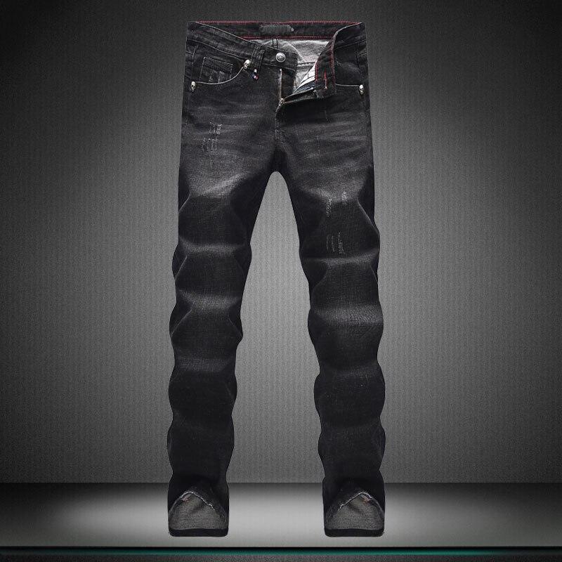 Show thin Jeans men Casual pants new Little feet pants High quality designer Brand men s