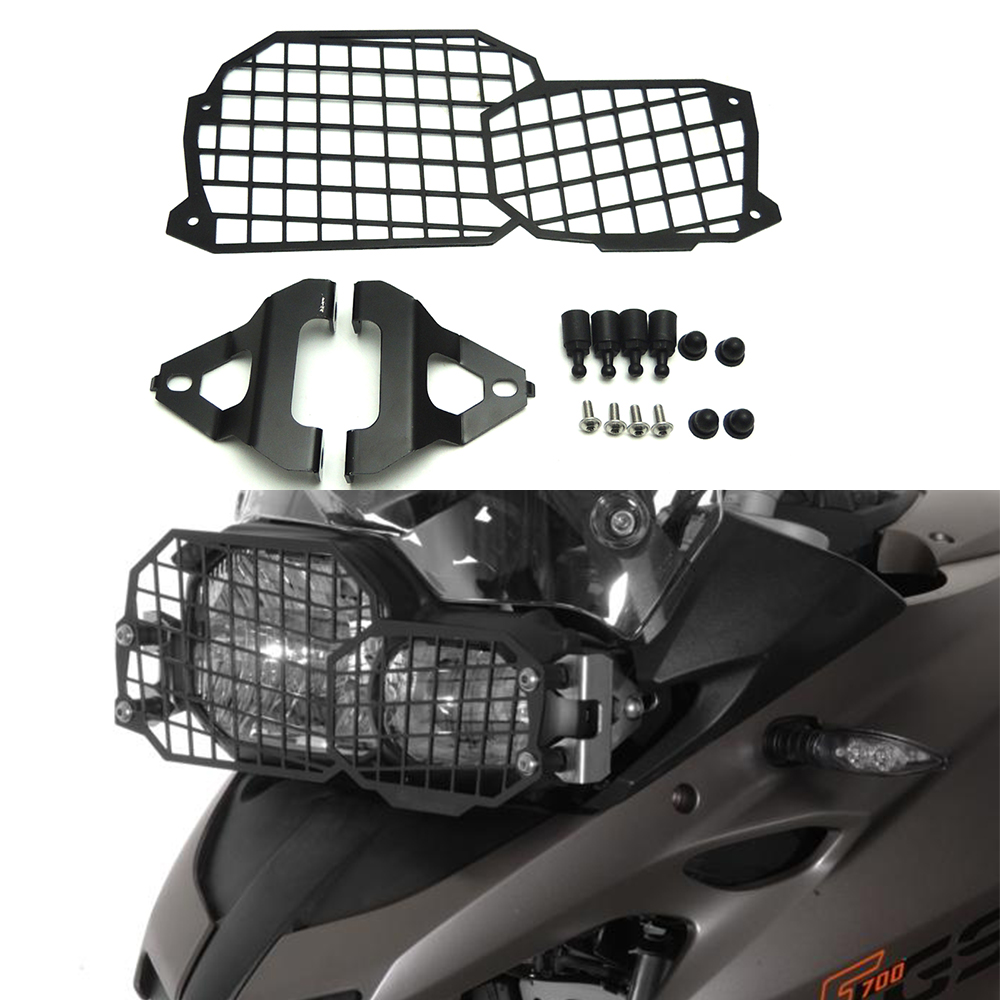 For BMW F800GS F700GS F800R F650GS Motorcycle Headlight Guard Protector Protection Stainless Steel 2008 2017 Modified